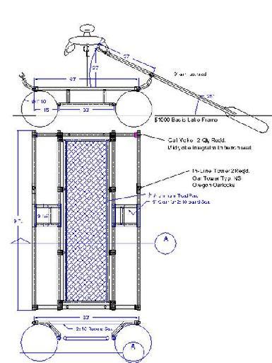 Diamond Plate Fishing CataRaft, Aluminum Hard Floors for Rafts