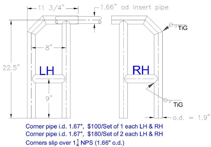 Raft Frame Fittings